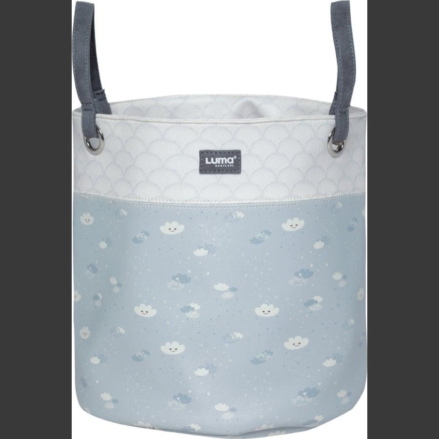 Luma® Babycare Panier rangement jouets Lovely Sky gris moyen