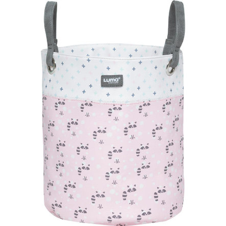 Luma® Babycare Spielzeugkorb Racoon Pink middle