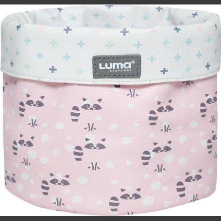 Luma® Babycare Canasta Racoon Pink pequeña
