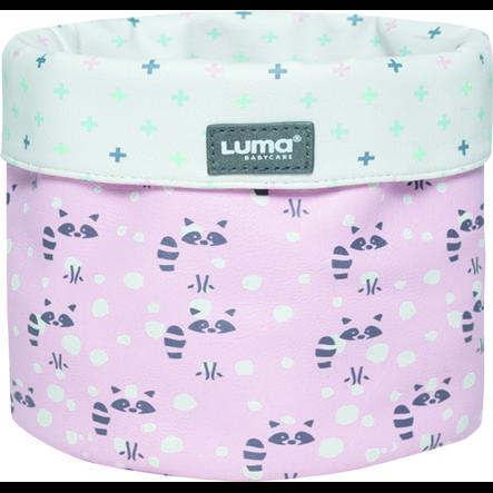 Luma® Babycare Cestino per la cura del bambino Racoon Pink small