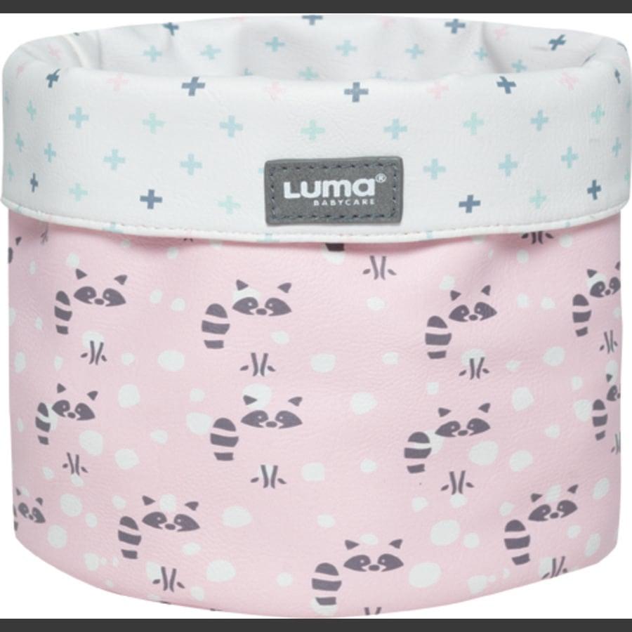 Luma® Babycare Verzorgingsmandje Racoon Pink small