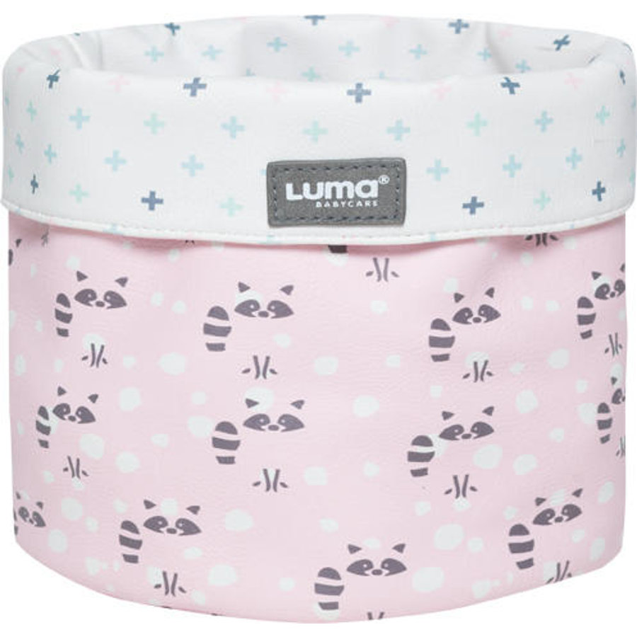 Luma ® Babypleie Omsorgskurv Racoon Pink LITTLEn