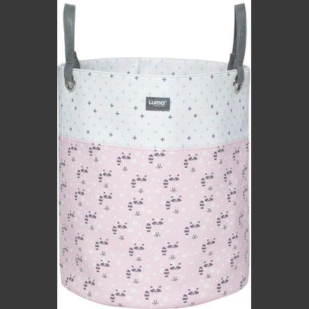 Luma® Babycare Förvaringskorg Racoon Pink large