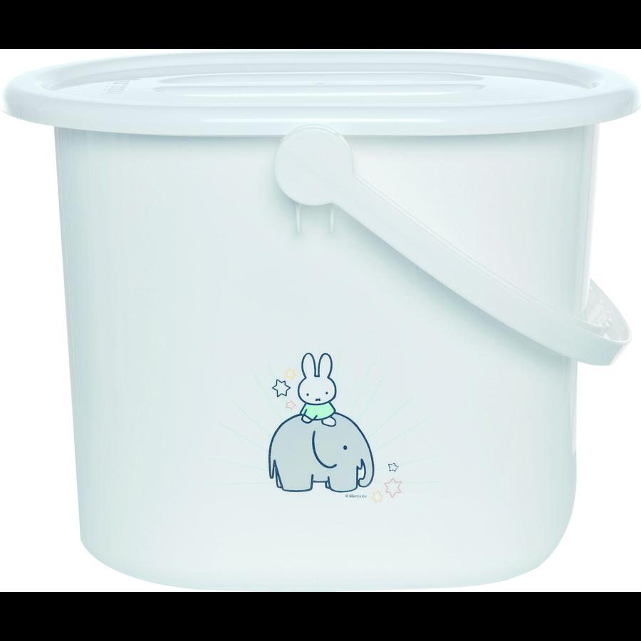 bébé-jou® Windeleimer Miffy weiß