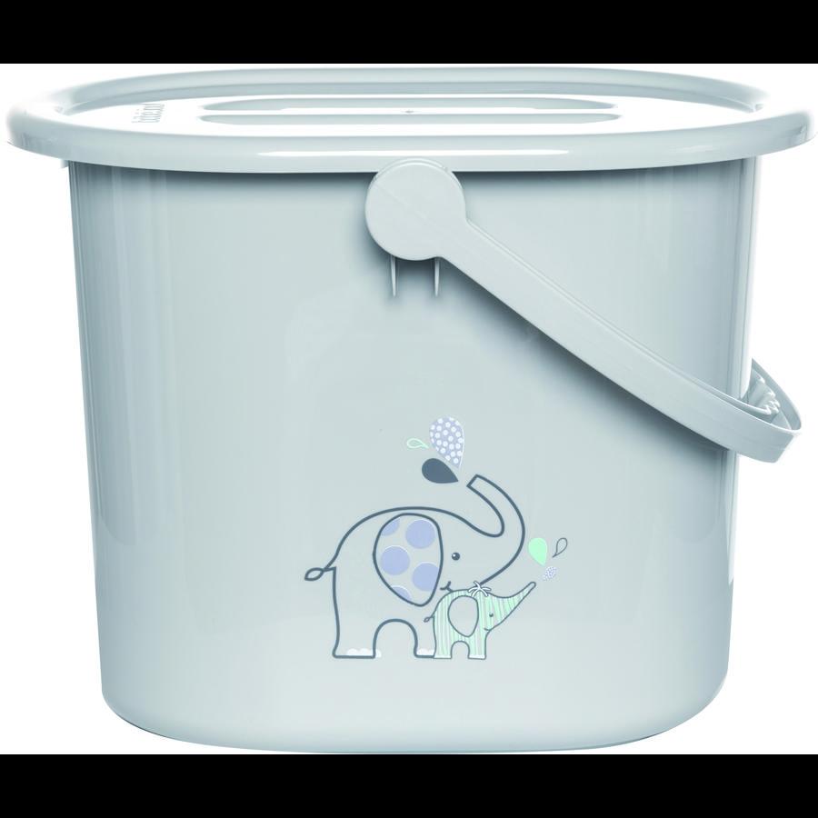 bébé-jou Plena kbelík Ollie šedá