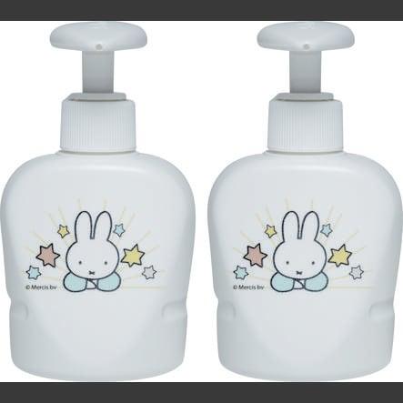distributeur de Miffy savon bébé-jou® en blanc