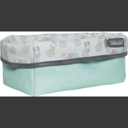 bébé-jou® Panier de rangement Miffy blanc