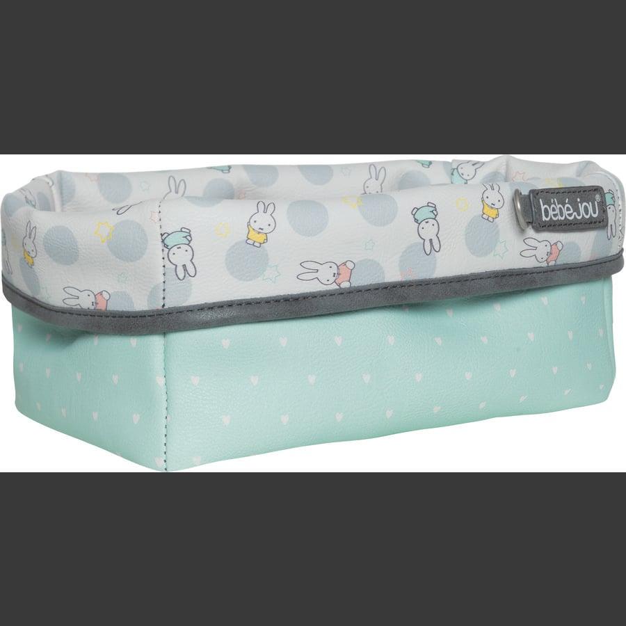 bébé-jou® cesta Miffy care blanca