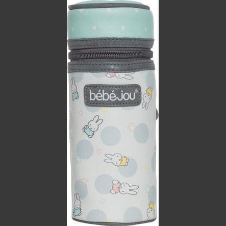 bébé-jou® bolsa Miffy para botellas blanca