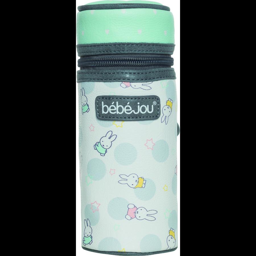bébé-jou® Pochette pour biberon isotherme Miffy blanc