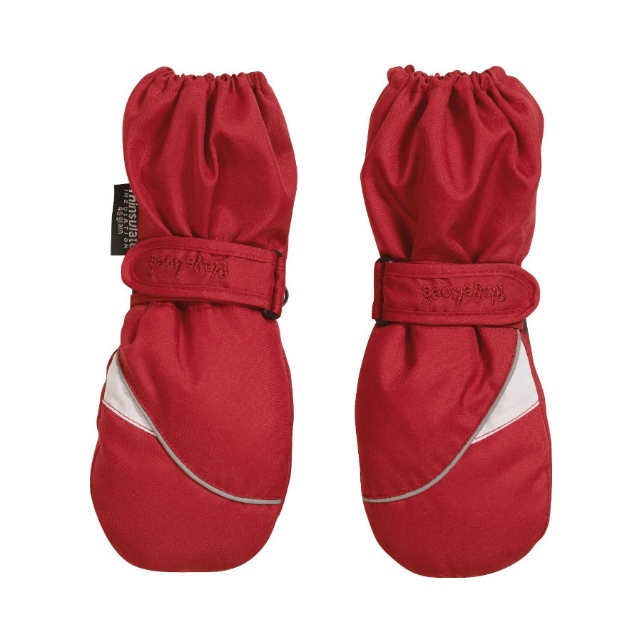Playshoes mitaines rouge