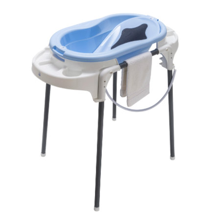 Rotho Babydesign Badestation TOP sky blue  4-teilig