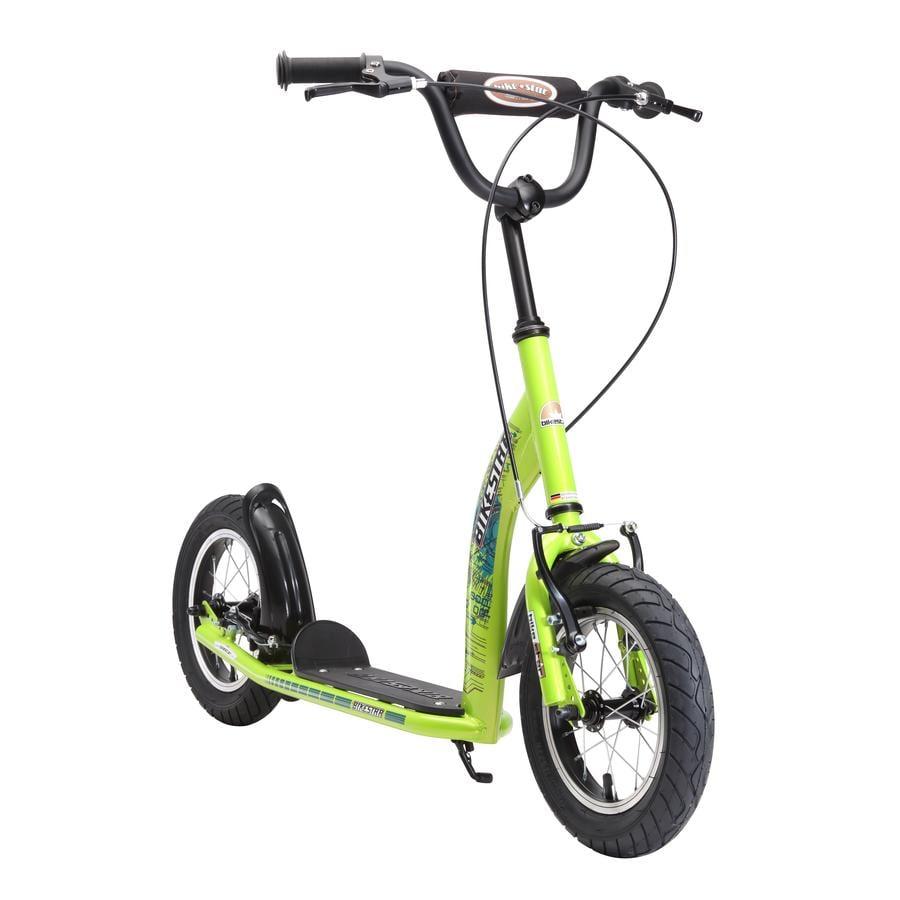 """bikestar Premium Kinderroller 12"""" Grün"""