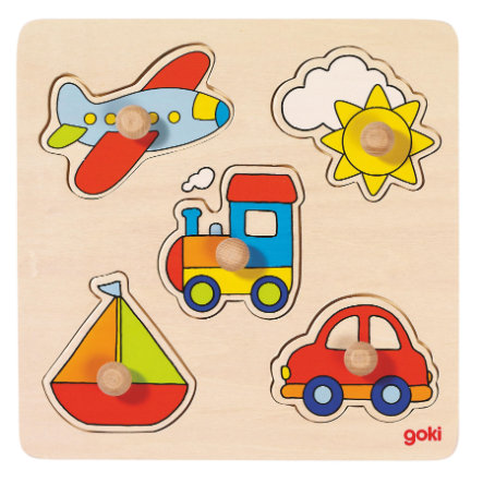 goki basic Puzzle My Journey, 5 pezzi