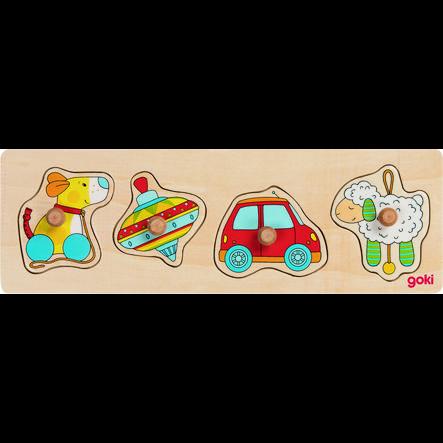 goki Jouet puzzle II, 4 pièces