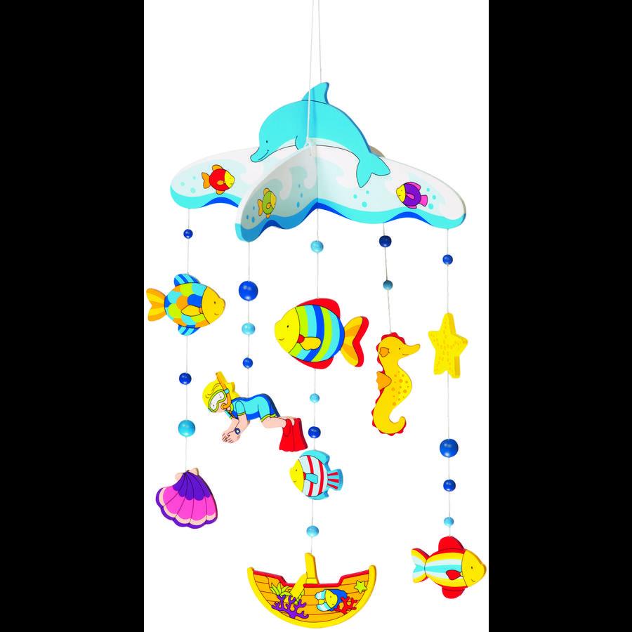 goki Hout mobiele onderwaterwereld