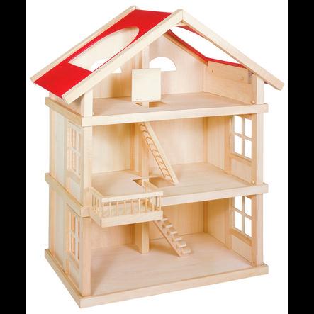 goki Maison de poupée 3 étages bois