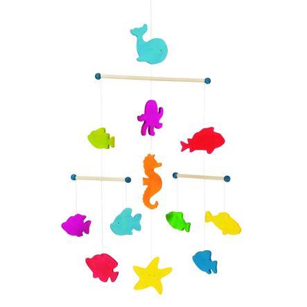 goki Houten mobiel zeedieren