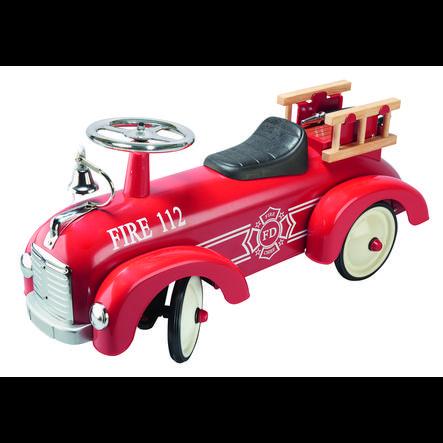 goki Porteur enfant camion pompier