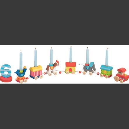 goki Tren de cumpleaños Mundo del circo