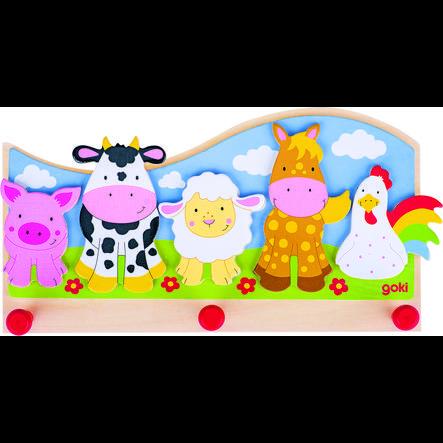 goki Garderobe Tiere auf dem Bauernhof
