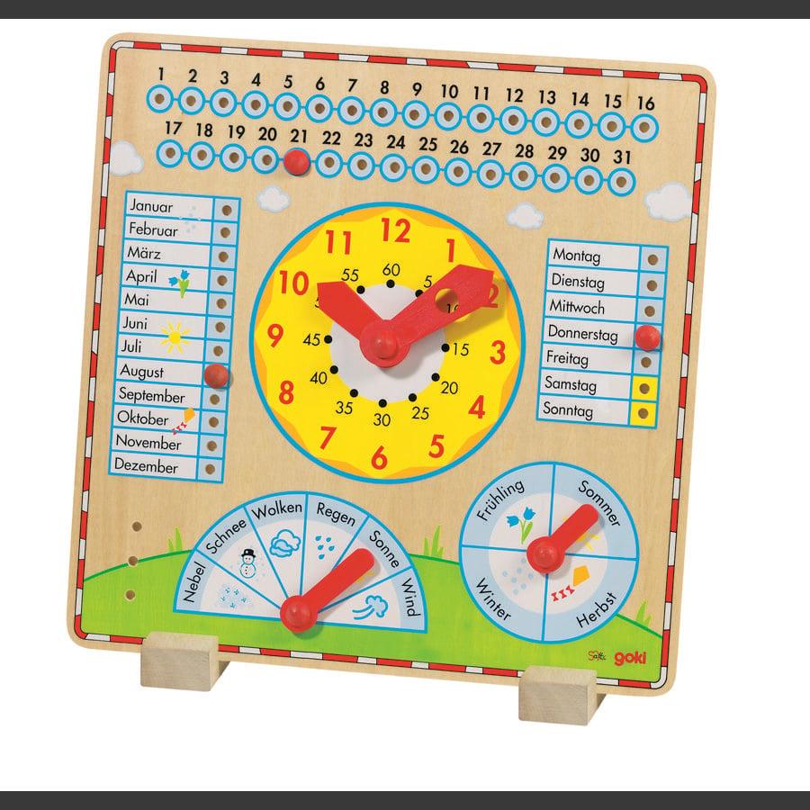 goki horloge annuelle