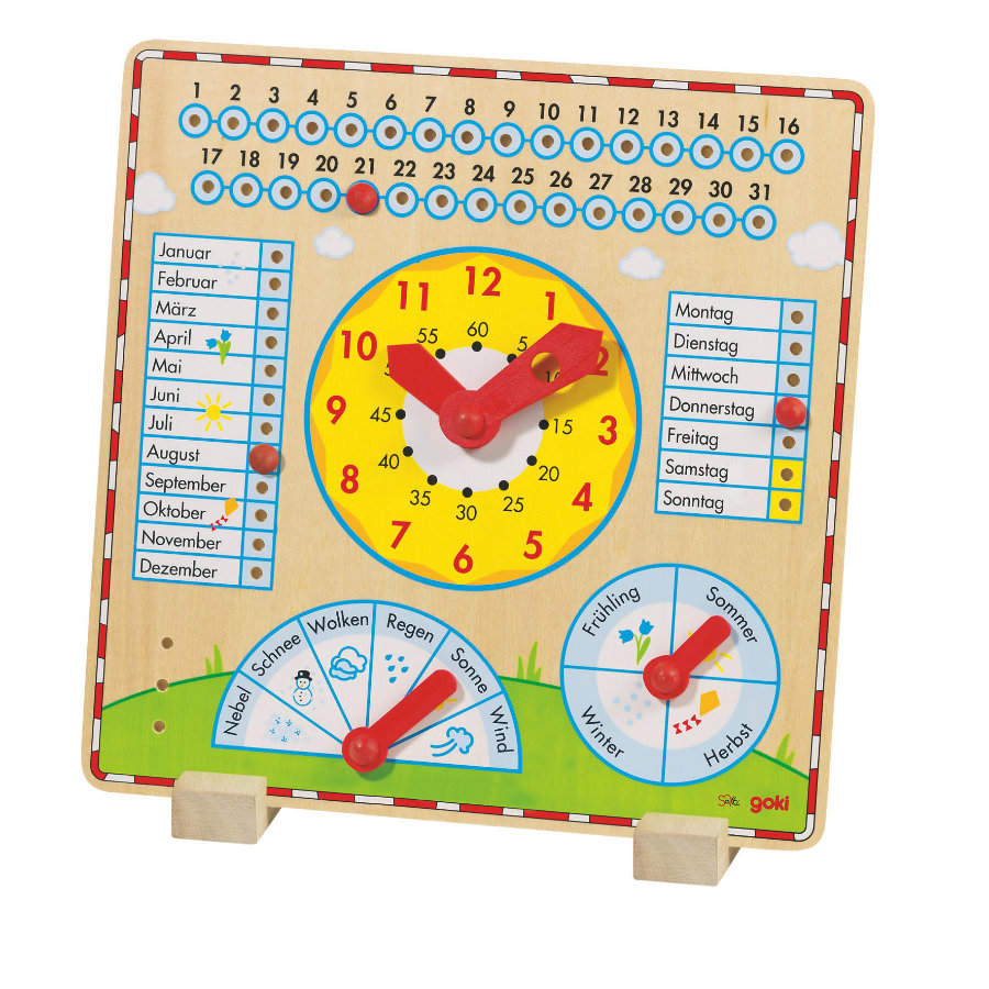 goki Reloj anual