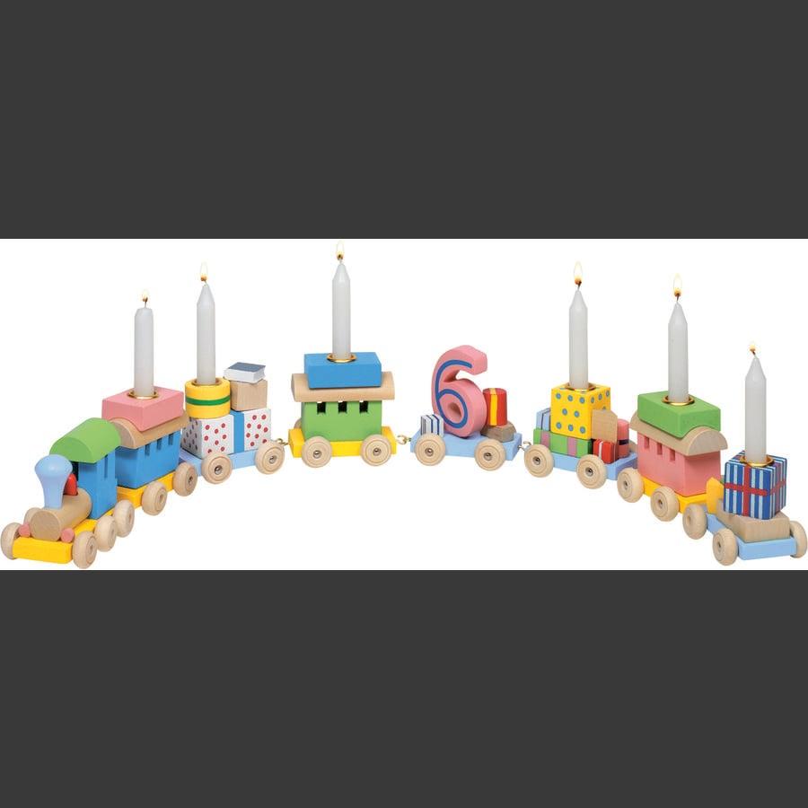 goki Fødselsdagstog, Lokomotiv med 7 vogne