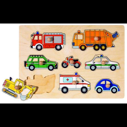 goki Puslespil Transportmidler, 8 dele