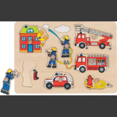 goki Puzzel Brandweer 8 delen