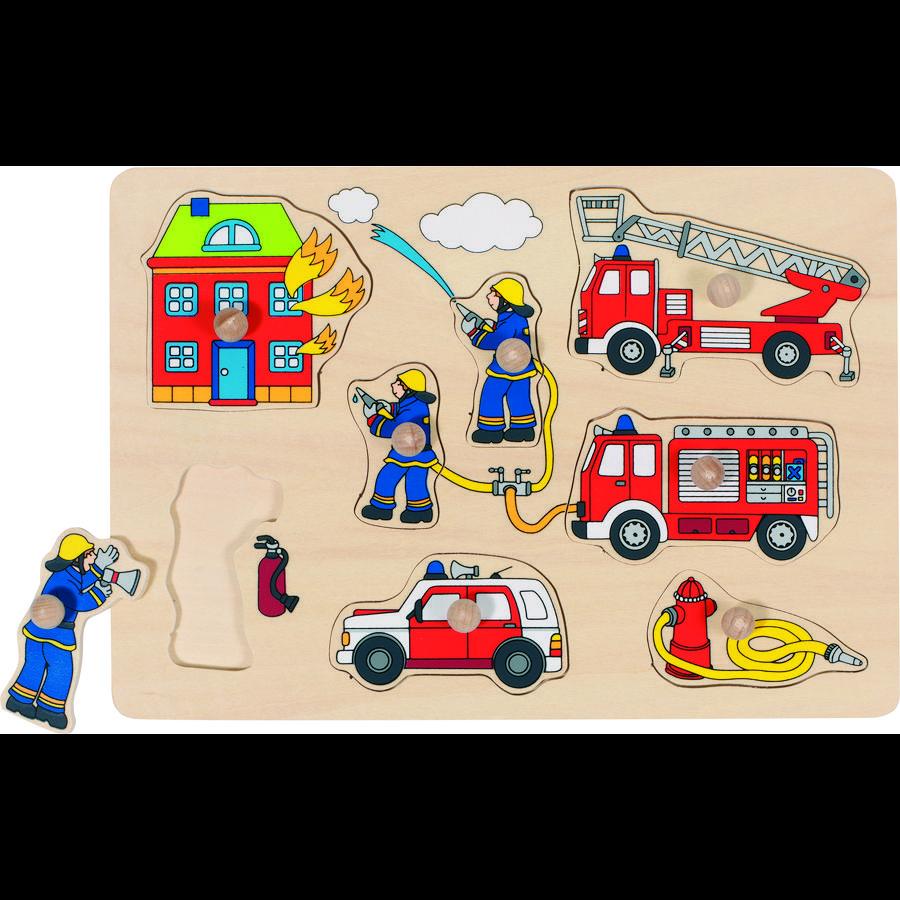 goki Puzzle pompiers, 8 pièces