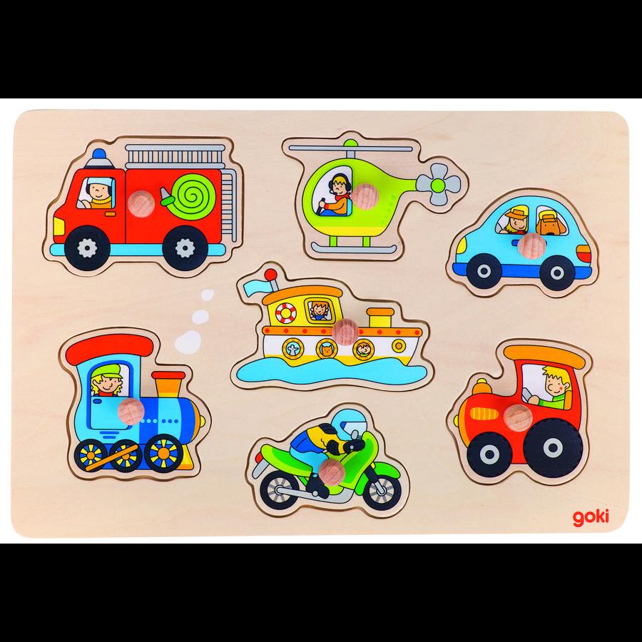 goki Trasporto puzzle, 7 pezzi