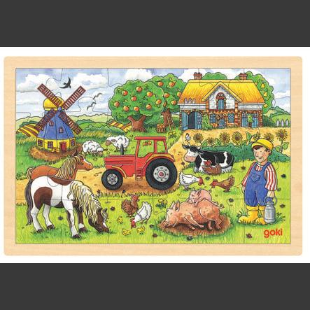 goki puslespill Millers farm, 24 deler