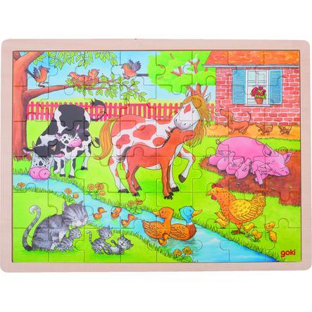 goki Puzzel Leven op de boerderij 48 delen