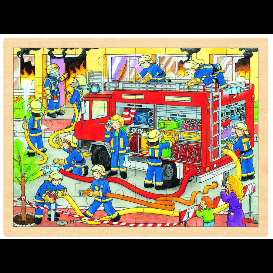 goki Sett inn brannvesenets oppdrag, 48 stykker