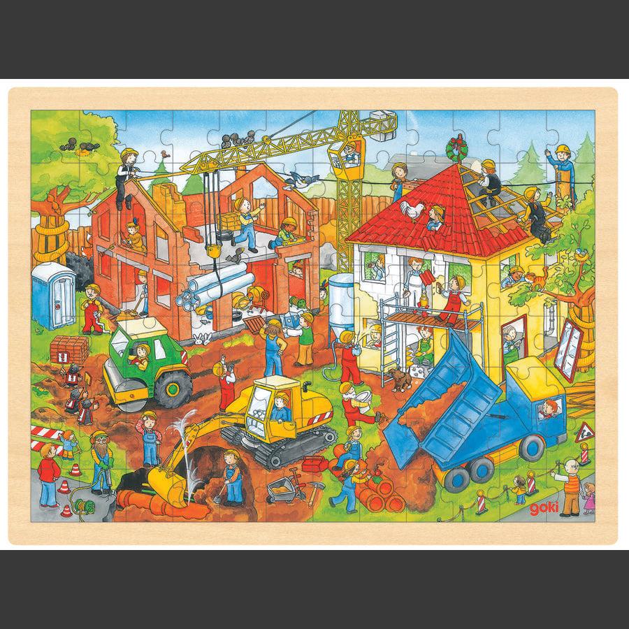 goki Puzzle de Obras, 96 piezas