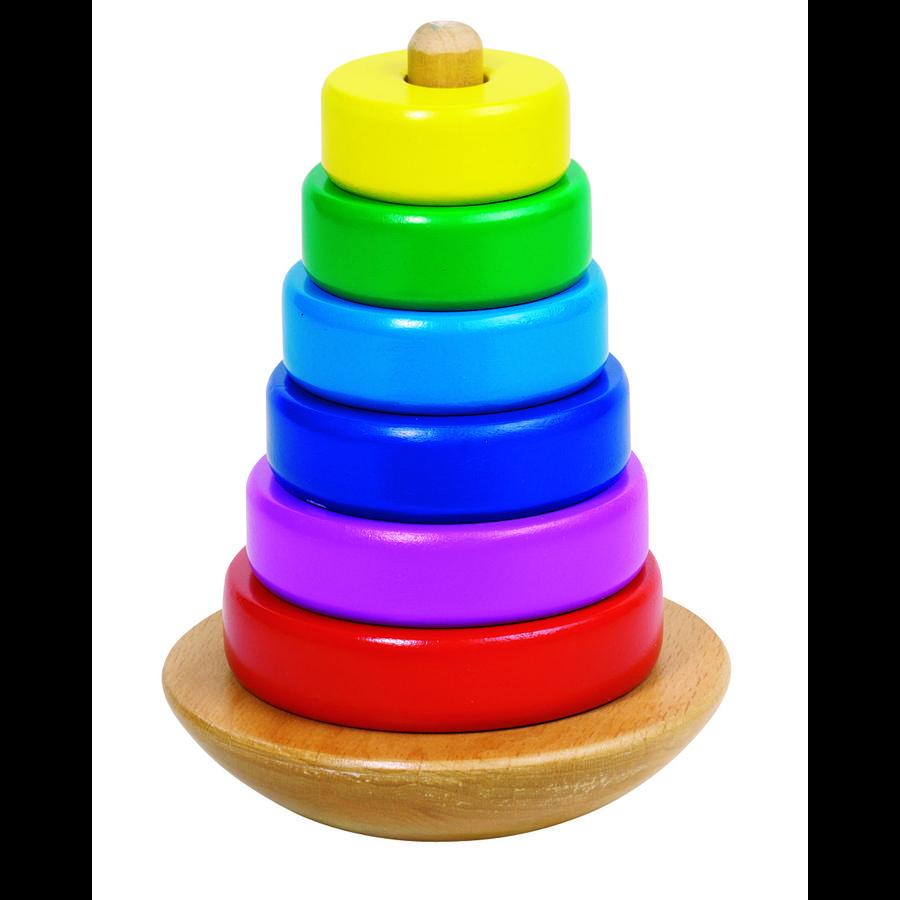 stohovací věž goki, barevná