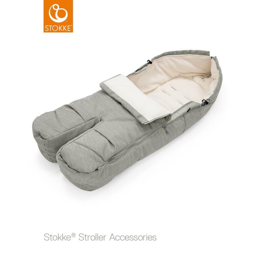 STOKKE® Fußsack Brushed Grey