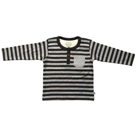 EBI & EBI tričko s dlouhým rukávem pruhy anthracid/grey
