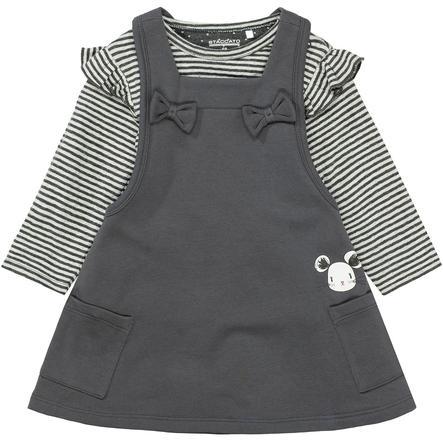 Staccato Girls Šaty s tričkem graphite