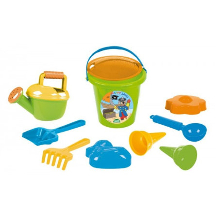 LENA® Set de juego en la arena para niños II, 10-piezas
