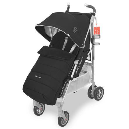 8fcce586b MACLAREN Conjunto de invierno de silla de paseo deportiva Techno XT Style  negro / plateado - rosaoazul.es