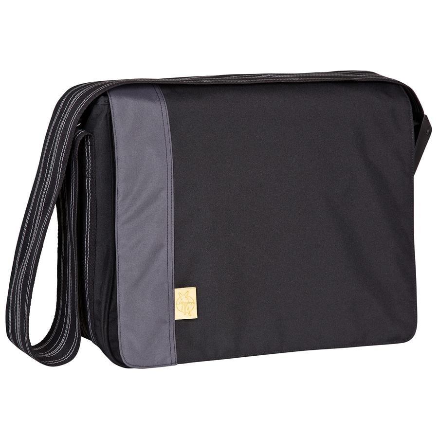 LÄSSIG Casual Messenger Bag Solid black