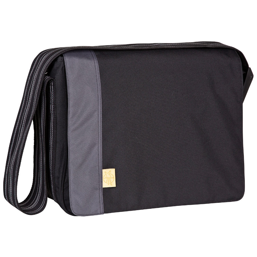 LÄSSIG Luiertas Casual Messenger Bag Solid black