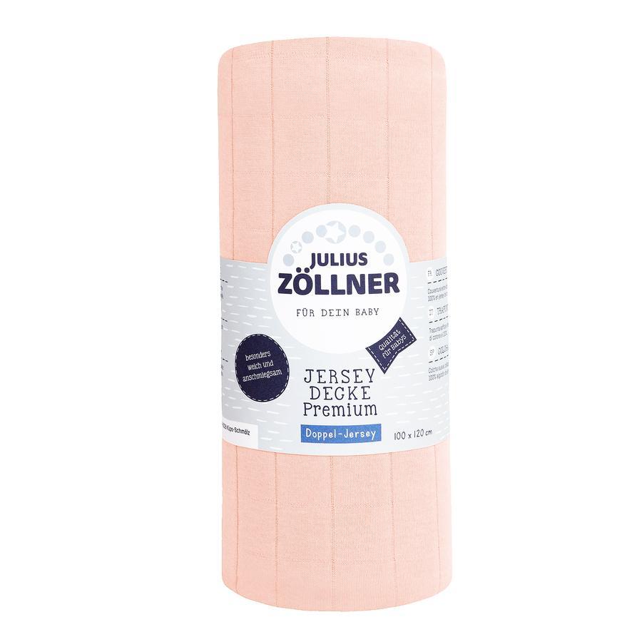 JULIUS ZÖLLNER Jerseydecke Premium Pearl 120x100 cm