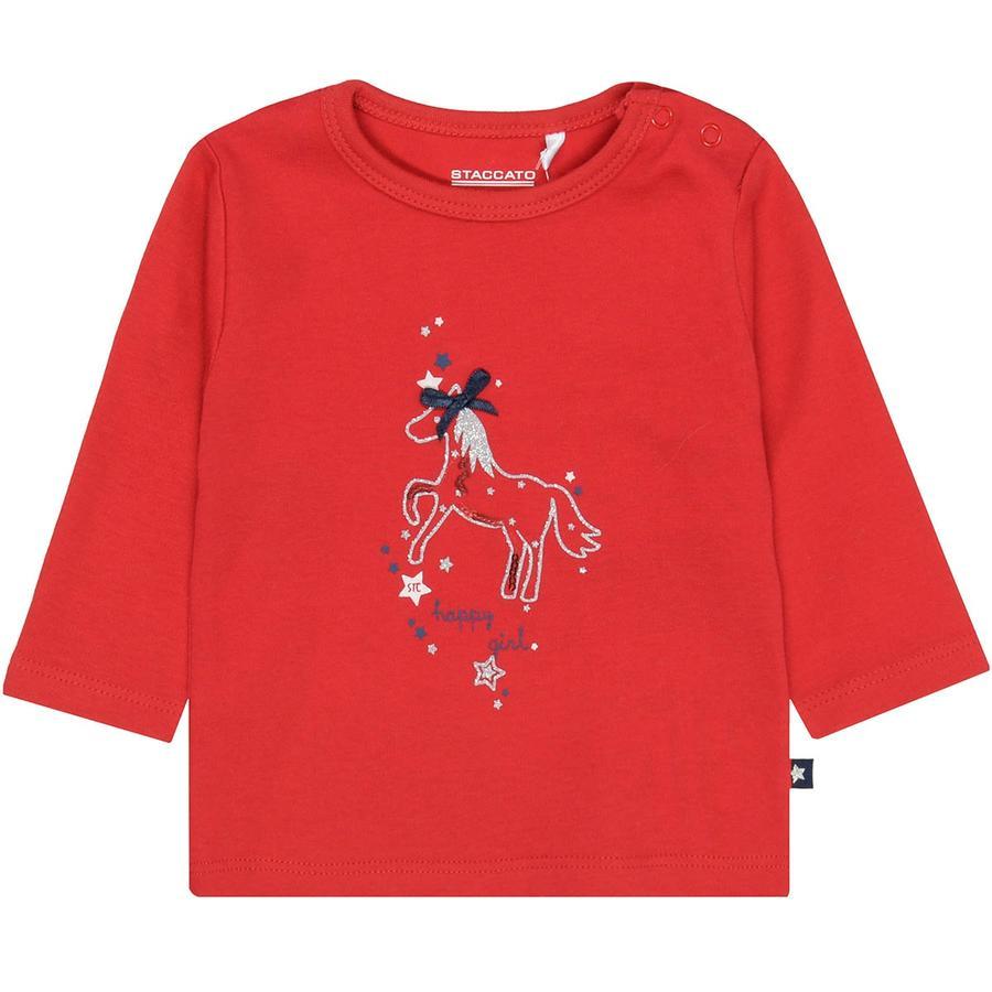 STACCATO Girl Camicia inverno rosso