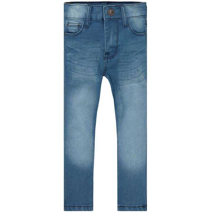 STACCATO Girl s Jeans Magere spijkerbroek van midden blauw denim
