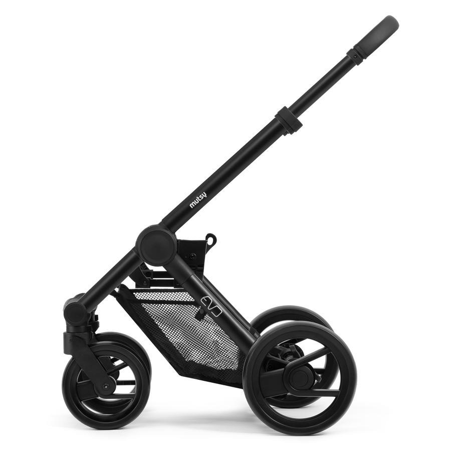 Mutsy Evo podvozek Grey Grip Black Black Wheels 2019