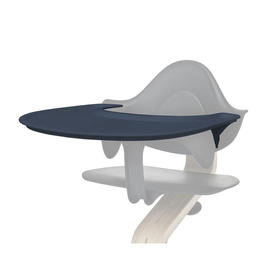 nomi by evomove Tablette chaise haute enfant bleu foncé