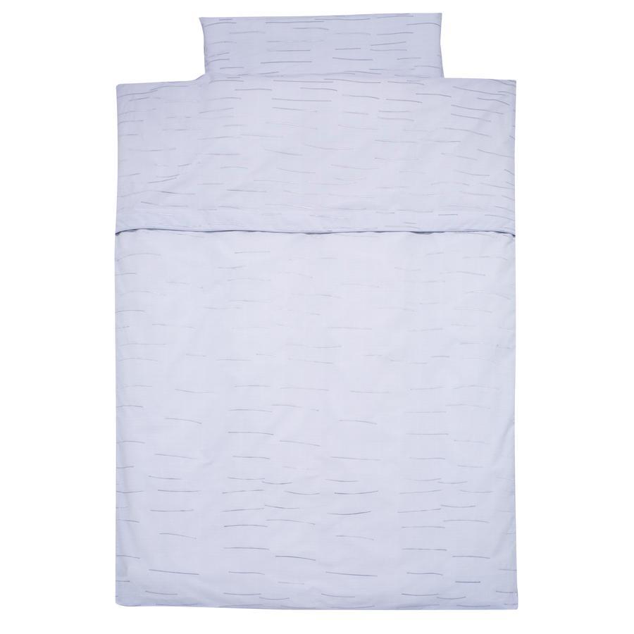 Alvi Påslakanset 100 x 135 cm, Stripes blue